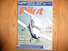 Pilot October 2016, TB-10, P-51, Meteor memories