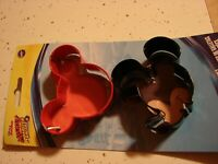 2 PC Mickey Mouse and Minnie Mouse Disney Cookie Cutters Set   Disney Junior NEW