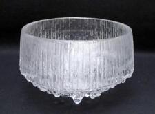 Iittala Bowl Scandinavian Art Glass
