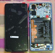 GENUINE CRYSTAL HUAWEI P30 ELE-L09 ELE-L29 LCD SCREEN DISPLAY FRAME OLED BATTERY