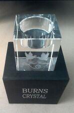 Burns Crystal Silver Wedding Candle / Tea Light Holder