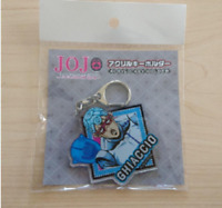 Jojo's bizarre adventure Assassination team  GHIACCIO Acrylic Keychain Gift