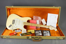 Fender USA 1999 Richie Sambora Stratocaster in bianco Vintage Con Custodia & CANDY