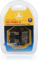 JL Audio XD-FDBU-2 2-Way MAXIFused Distribution Block multiple gauges NEW