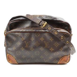 LOUIS VUITTON Nile Monogram Shoulder Bag M45244