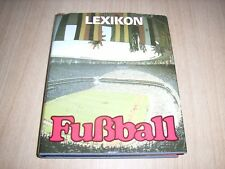 Lexikon Fußball  von Bernd Rohr und Günter Simon Leipzig 1988 446 Seiten