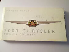2000 chrysler town and country manual