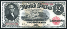 FR. 60 1917 $2 TWO DOLLARS LEGAL TENDER UNITED STATES NOTE GEM UNCIRCULATED
