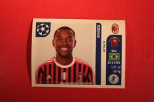 PANINI CHAMPIONS LEAGUE 2011/12 N 512 ROBINHO MILAN WITH BLACK BACK MINT!!