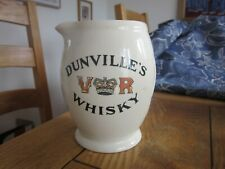 More details for very good condition dunvilles vr special liqueur whisky water jug