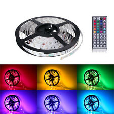 5M 5050 RGB 300 LEDs Flexible Strip Light+IR Remote+power suppply FREE DELIVERY