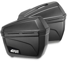 GIVI E22N MONOKEY 22LT HARD BAGS SIDE MOTORCYCLE SCOOTER LUGGAGE PANNIERS