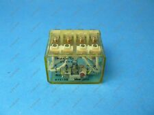 Idec RH4B-UL-DC24 Relay 14 Blade 4PDT 10 Amp 24 VDC Coil Indicator LNC