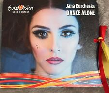 EUROVISION 2017 FYROM MACEDONIA PROMO CD SINGLE JANA BURCHESKA DANCE ALONE