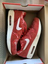 Nike - Liberty Of London - Red Paisley Air Max 1 - Size 8 / 42.5