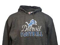 Detroit Lions NFL Majestic Grey Kick Return Pullover Hoodie Men's, Big & Tall