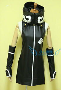 Free shipping Black Rock Shooter Strength Cosplay Costume