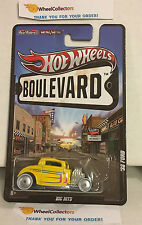 '32 Ford * Yellow * Boulevard Hot Wheels * D2