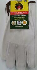 Cowhide Leather Work Gloves w/ Keystone Thumb Size M 10 DOZEN