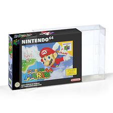 10 Klarsicht Schutzhüllen Nintendo 64 [10 x 0,3MM N64 OVP] Spiele Games