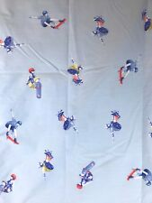 Pottery Barn Kids Sports Duvet Bedding Skate Boarder Full Size Blue