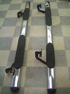 05-08 Lincoln Mark LT F-150 Aftermarket Westin Chrome Running Boards Nerf Bars