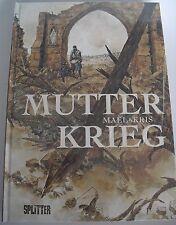 Madre Krieg Gráfico Novela para 1ª GUERRA MUNDIAL Kris Mael Splitter 9783868697
