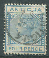 BRITISH ANTIGUA Yvert # 12 Used VF