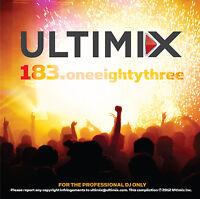 Ultimix 183 CD Ultimix Records Carly Rae Jepsen Sammy Adams Alex Clare Avicii