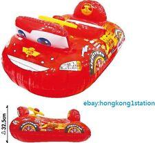 Disney Pixar Cars McQueen Baby Kid Swimming Inflatable Float Boat Swim Seat Ring