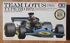 TAMIYA 1/12 Series Lotus 72D w/ Photo-etched parts John Player Special  F-1MIB