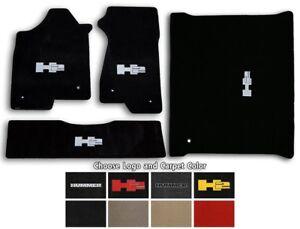 Lloyd Velourtex 4pc Carpet Floor Mats for Hummer H2 - Choose Color & Logo