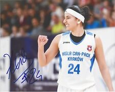 BEN ABDELKADER Signed 8 x 10 Photo WNBA Basketball INDIANA FEVER Belgium