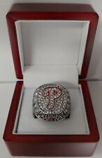 Philadelphia Phillies - 2008 World Series Custom Ring With Wooden Box