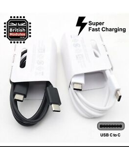 25X USB-Type C to Type C Cable For Samsung Galaxy S10 Plus / Note 10 / S9