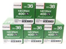 5 x Fuji Neopan 400cn 35mm 36exp CHEAP B&W Pellicola per 1st Class Royal Mail