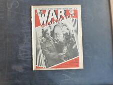 1940 THE WAR ILLUSTRATED VOL. 3 #50 CANADIAN ARRIVALS, JAPAN v CHINA, JERSEY