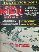 For Men Only Dec 1963 Vtg Pulp Magazine - Artic Commandos - Pinups - No Label VG