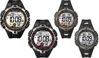 Timex Marathon Digital Alarm Chronograph Black Resin Strap Gents Watch