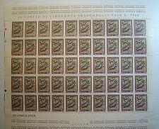 1975 ITALIA  150 lire  Natale    foglio intero MNH**