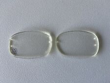 Cartier lens C Decor 52 clear never used frames glasses 5.2 x 3.2 cms pair