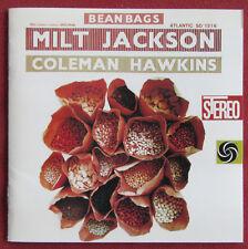 MILT JACKSON  COLEMAN HAWKINS  CD JAPON  FREE FOR ALL BEAN BAGS