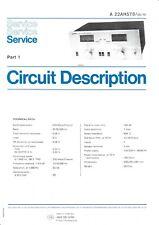 Service Manual-Anleitung für Philips 22 AH 578