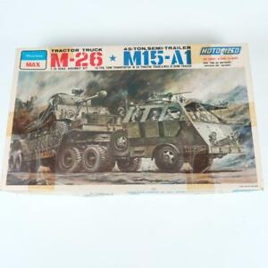 Peerless Max M-26 Tractor Truck & M15-A1 Semi-Trailer 1/35 Scale Kit Motorized