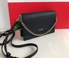 Kate Spade Cameron Convertible Crossbody Bag Black Leather WKRU5843
