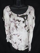 JLO Jennifer Lopez Women's Size XS XSmall Beige Sleeveless Blouse Shirt