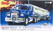 "Revell Monogram SnapTite 1/32 Mack ""R"" Conventional and Fruehauf Tanker 85-1961"