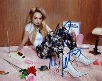 Kim Petras Autographed Signed 8x10 Photo REPRINT