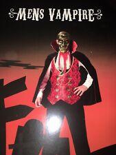 Halloween Vampire men's fancy dress costume L-XL - Sainsbury's TU BNWT