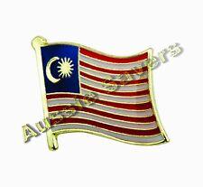 MALAYSIA FLAG ENAMEL PIN BADGE BNIP